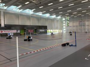 Salle avant le tournoi